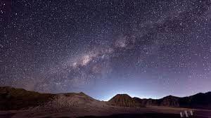 Bromo Milky Way