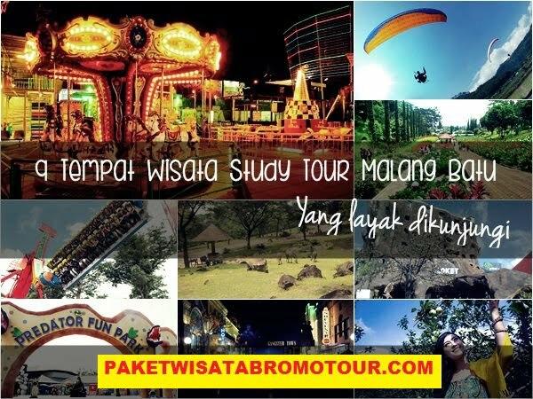 Paket Study Tour Bromo Malang Batu