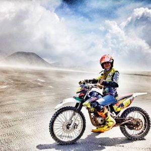 Sewa Motor Trail Bromo