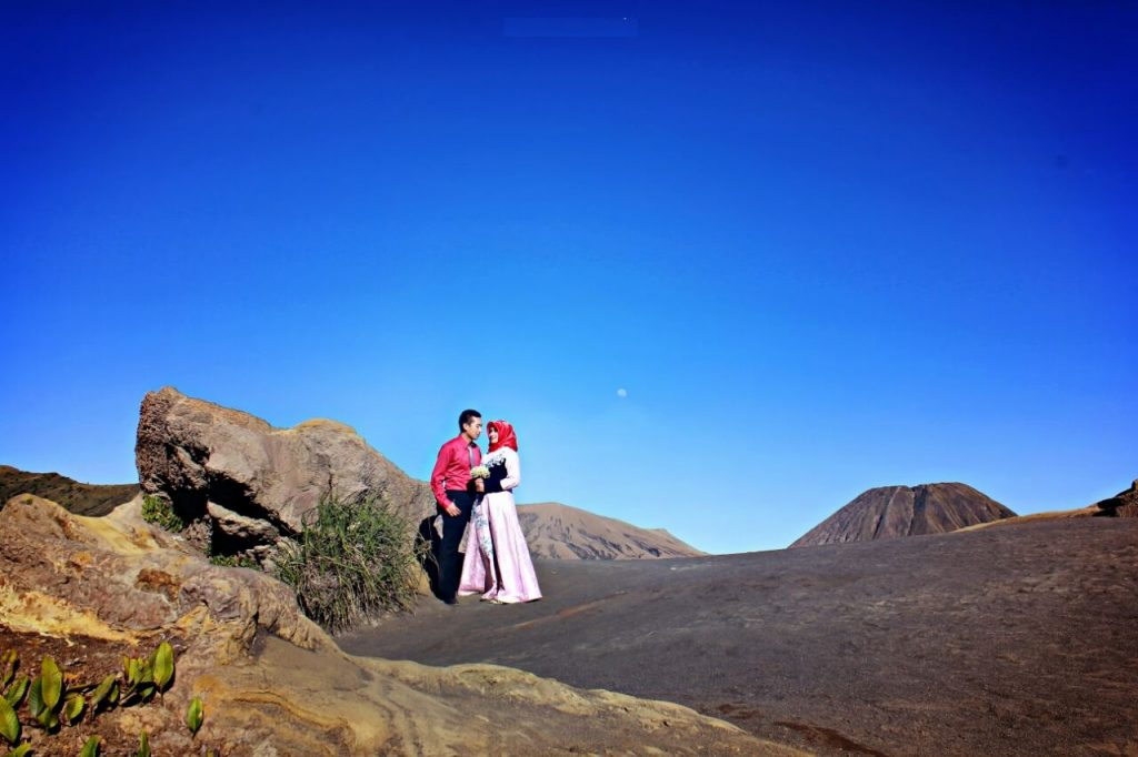 Prewedding di Bromo